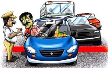 पलामू : 93 वाहनों का चालान काटा गया