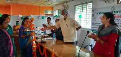 पोषण जागरूकता अभियान का समापन पर उत्कृष्ट कार्य करने वाली सेविका व सहायिकाओं को किया गया पुरस्कृत