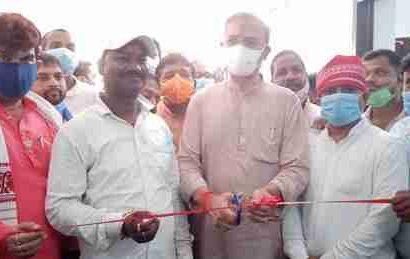 भारतीय जनता युवा मोर्चा के द्वारा रक्तदान शिविर का आयोजन